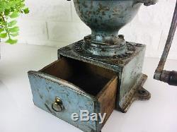 Antique Peugeot A1 Coffee Grinder, Frère Brevetes, Cast Iron, Kitchenalia