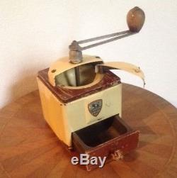 Antique Peugeot Coffee Grinder Made in France circa 1910