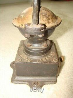Antique Peugeot Frères Brevetés S. G. D. G Coffee Grinder Pepper Mill Combo