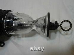 Antique Primitive Arcade Crystal #3 Wall Mount Coffee Grinder Cast Iron With Cup
