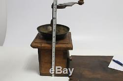 Antique Primitive Ottoman mill grinder for spice and coffee