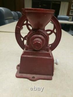 Antique Single Wheel Coffee Grinder Mill