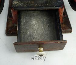 Antique Small Enterprise Coffee / Mill Grinder