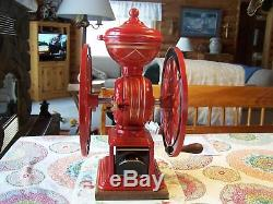 Antique Swift Mill #13 coffee grinder by Lane Brothers. Fully restored