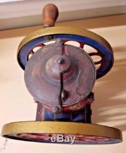 Antique The Cha's Parker Co. Meriden Conn. U. S. A. Coffee Grinder