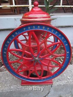 Antique The Swift Mill Lane Brothers Poughkeepsie NY Coffee Grinder #14