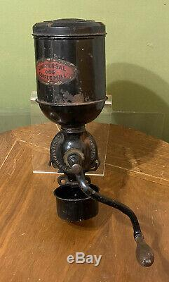 Antique Universal 0012 Coffee Mill Landers Frary & Clark Complete Coffee Grinder