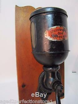 Antique Universal 014 Coffee Mill Grinder pat 1909 Landers Frary Clark Conn USA
