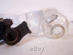 Antique Vintage ARCADE Crystal #40 Wall Mount Coffee Grinder Mill w Orig Glass