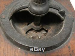 Antique/Vintage American ARCADE KING No. 630 Wood Coffee Mill/Grinder