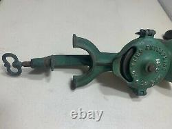 Antique Vintage Enterprise Cast Iron Coffee Grinder No. 0