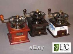 Antique Vintage Styled Coffee Spice Herb Salt MILL Grinder