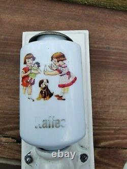 Antique Vtg Rare German Miniature Coffee Grinder Salesman Sample Doll House