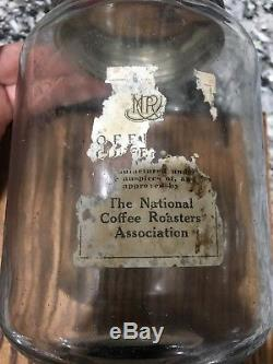 Antique Wall Mount Coffee Grinder National Coffee Roasters Association