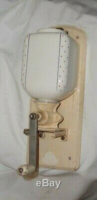 Antique Wall Mount Coffee Grinder signed Waechtersback Made in Germany