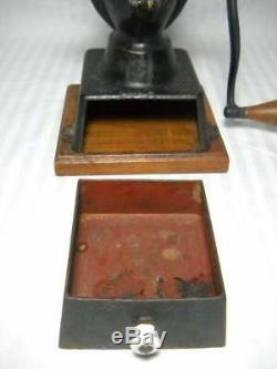 Antique Working Enterprise Coffee Grinder Piladelphia PA Original Paint & Decals