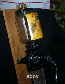 Antique Wrightsville Manufacturing Co. Wall Mount Coffee Grinder / MILL