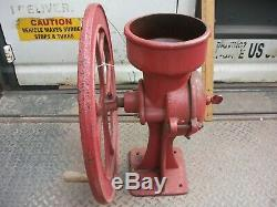 Antique bluegrass belknap USA Model 3 Cast Iron Corn/Coffee Grinder original