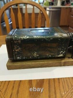 Antique coffee Grinder Excelsior Wall mount