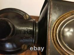 Antique coffee Grinder Oplex wall mount