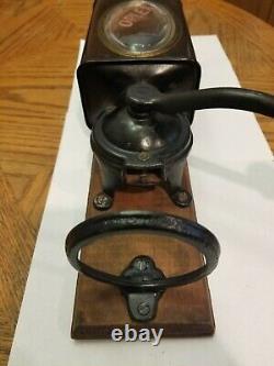 Antique coffee Grinder Oplex wallmount
