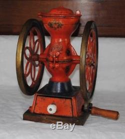 Antique coffee grinder mill Enterprise #2 cast iron