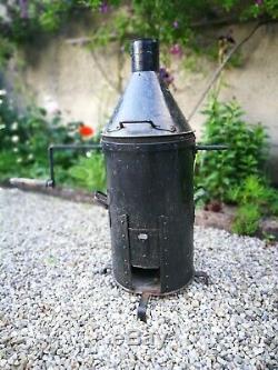 Antique huge french Coffee roaster grinder restaurant shop
