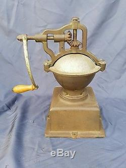 Antique no 2 Coffee Grinder Mill Cast-Iron Moulin Cafe (Peugeot)