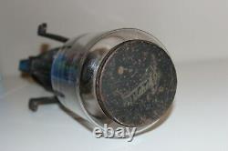 Arcade Crystal Wall Mount Coffee Grinder Hank Crank Vintage Antique