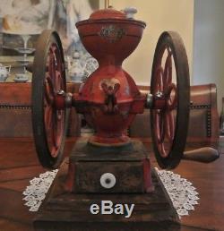 Beautiful Antique Enterprise No 3 Cast Iron Coffee Grinder