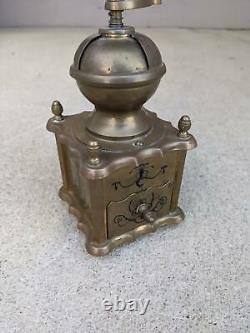 Brass Antique Coffee Grinder