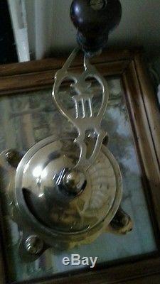 Brass vintage coffee grinder