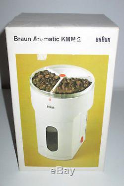 Braun Kmm2 Coffee Burr Grinder 4023 Dieter Rams Kmm 2 MILL 1969