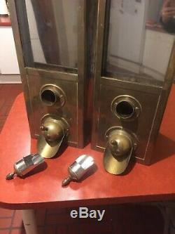 Coffee Beans Dispenser (Brass) Vintage Antique Ideal 4 Coffee House