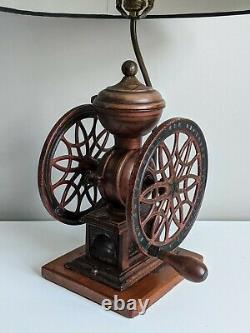 Double Wheel The Swift Mill Lane Bros. # 12 POUGHKEEPSIE NY Coffee Grinder