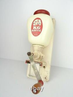 Dutch Wall Coffee Mill Kanis Gunnink Grinder Vintage Rare (Zassenhaus Pede era)