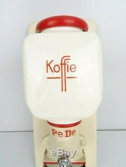 Dutch Wall Coffee Mill PeDe Grinder Retro Vintage (Zassenhaus era) Holland