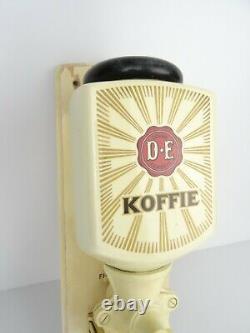 Dutch Wall Coffee Mill Zassenhaus Grinder Vintage Antique (Delft Pede era)