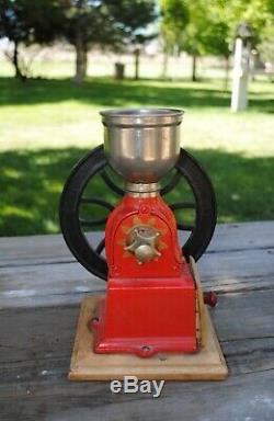 Elma Coffee Grinder Vintage Works Perfectly
