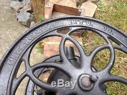 Enterprise Antique Store Keeper Coffee Grinder Mill Original Cast Iron Primitive