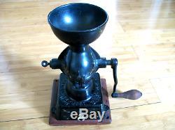Enterprise Cast Iron Coffee Grinder Mill Antique Philadelphia USA
