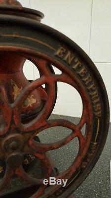 Enterprise Coffee Grinder Antique 1873