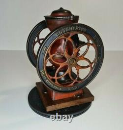 Enterprise Coffee Mill Grinder Model #2 late 1800's early 1900's