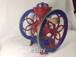 Enterprise MFG Company No. 3 Coffee Grinder Mill Antique Vintage Circa 1898