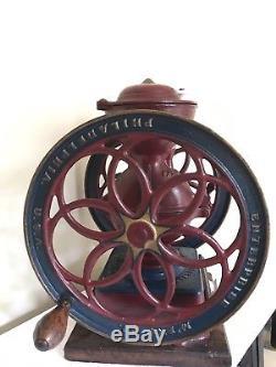 Enterprise Mfg Company No. 3 Coffee Grinder Mill Antique Vintage 1898 Rare USA
