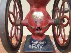 Enterprise no 2 coffee grinder antique cast iron