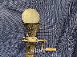 Fantastic Antique Cast Iron Coffee Grinder/mill