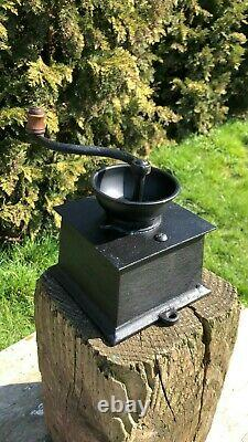 Fantastic Vintage French Coffee Grinder Mill With Draw