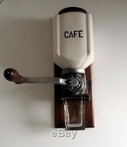 French Antique Mural Coffee Grinder / Mill Coffee Accessories