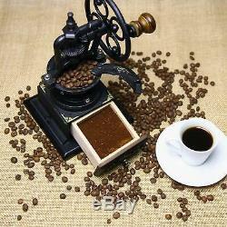 INice Vintage Style Manual Coffee Grinder
